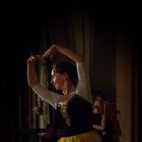 На репетиции. :: Владимир Батурин