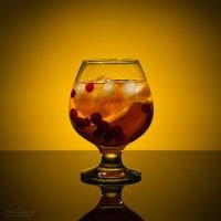 Холодный чай с лимоном и клюквой :: Ирина Лепнёва