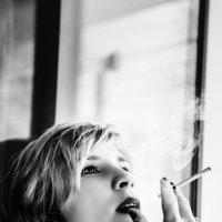 черно-белый портрет девушки :: Наталья