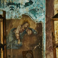 Старая церковь с.Добрица. Дары. :: Александр Амеличкин