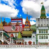 Измайлово Кремль лето :: Андрей Мелехов