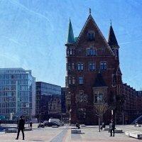 Гамбург. Отражение старого в новом :: Nina Yudicheva