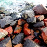 Камни у морской воды. :: Андрeй Владимир-Молодой