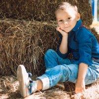 мальчик на  сене :: Алена Архиреева