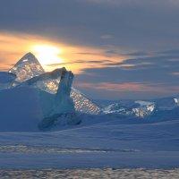 Утро во льдах :: Дмитрий Сенотрусов