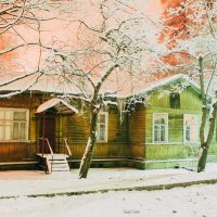 Зимний двор :: Алёнка Шапран