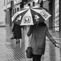 ...двое под зонтом... :: Ольга Нарышкова