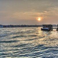 Вечер и закат слнца в Венеции :: Николай Милоградский