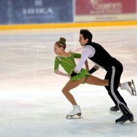 Танец на льду :: Евгений Никифоров