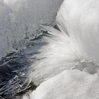 Лёд    рассыпается    на   части   в   лучах   под  солнцем :: Виктор