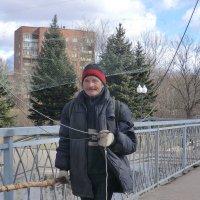 Великие Луки, рыбак на Ловати... :: Владимир Павлов