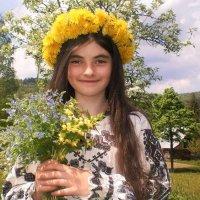 дівчина - веснянка :: Степан Карачко