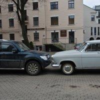 Встреча на парковке :: Татьяна Василюк