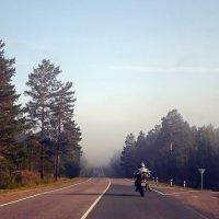 А я еду. а я еду за туманом... :: Вячеслав Балханов