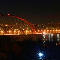 Вечерние огни Новосибирска :: galina tihonova