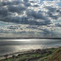 Таганрогский залив в апреле :: Константин Снежин