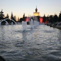 водяное зеркало фонтана :: Олег Лукьянов