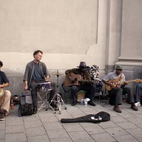 Музыканты на улице Мюнхена :: Lukum