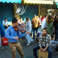 Иерусалим. Рынок Маханэ Иегуда. Клейзмеры. :: Игорь Герман