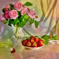Розово-клубничный :: Наталия Лыкова