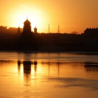 На закате :: Вера Моисеева