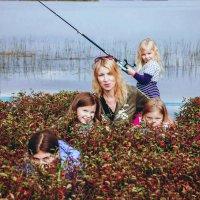 Сестры и их мама. :: Любовь Погодина