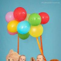 на воздушном шаре :: Анастасия Герасимова