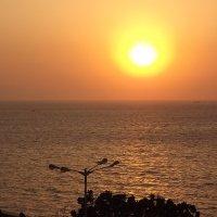 закат солнца Аравийское море :: maikl falkon