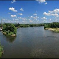 р.Десна (вид с пешехедного моста) :: Юрий Бойко