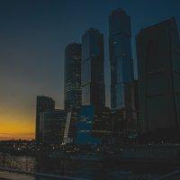 Москва сити :: Александр Цапликов