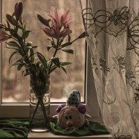 За окном весенний дождь... :: Альмира Юсупова