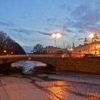 ново-никольский мост мартовским вечером :: Елена