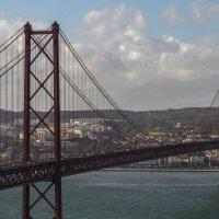 мост через реку Тежу :: татьяна