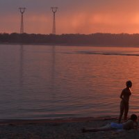 Закат на Волге :: Любовь Бутакова