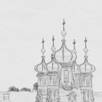 Апрельский набросок Екатерининского дворца... :: Tatiana Markova