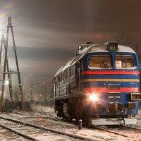 Морозное утро на станции Осташков :: Денис Доронин