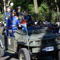 Военный парад в честь иннагурации Президента Парагвая Хорасио Картеса :: Vitalet