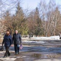 Последний снег. Кемерово, апрель :: Edward Metlinov