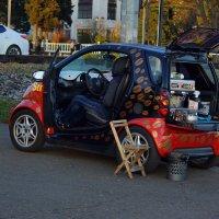 Кофейня на колесах. :: Алексей Golovchenko