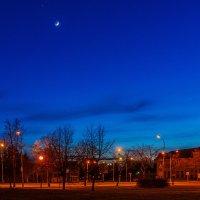 Ночной город :: Леонид Соболев