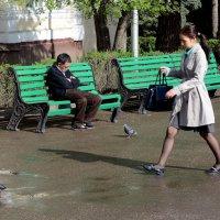 8. Фотография с контрастом характеров, типажей или эмоций на разных пространственных планах :: Асылбек Айманов
