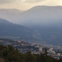 Над городом туман... а может где то рядом :: M Marikfoto