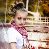 girl & snake :: Надежда Машкова