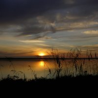 Карелия, закат :: Дмитрий Брицко