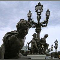 Декор моста Александр III :: Евгений Печенин