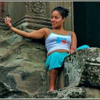 На память об Ангкоре :: Евгений Печенин
