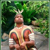 Человек - кенгуру из племени Тжапукай :: Евгений Печенин