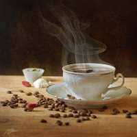 Чашка кофе. :: Юлия Холодкова