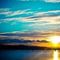 Ночное солнце Мурманска :: Артём Ершов