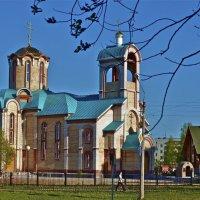 Храмовый комплекс в Сыктывкаре :: Анатолий Викторович КЛИМЕНКОВ